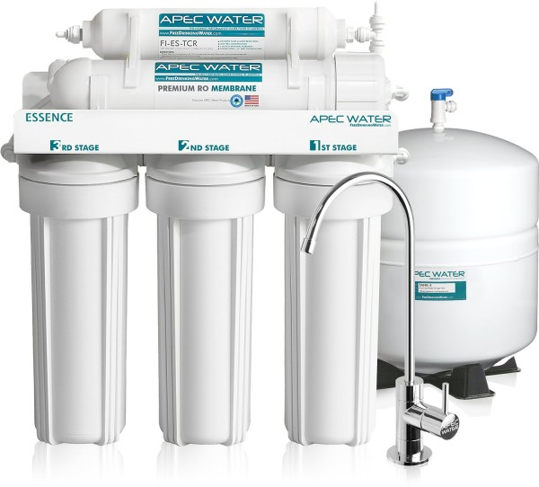 Reverse osmosis home filter system